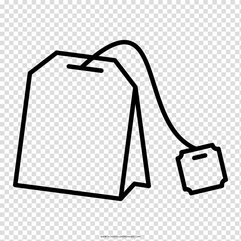 Clipart tea bag clip freeuse library Tea bag Green tea Drawing Coloring book, tea transparent background ... clip freeuse library