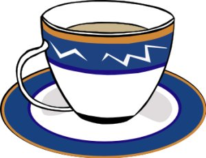 Free clipart tea cups