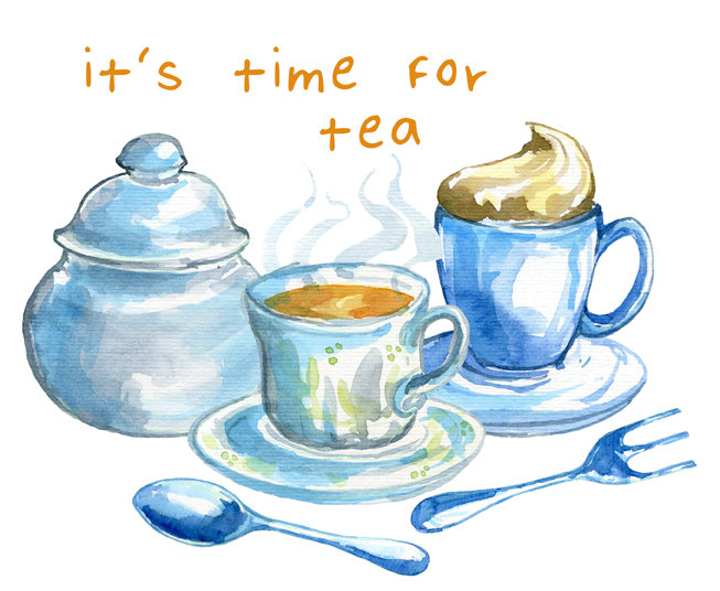 Clipart tea time picture freeuse library 27+ Tea Time Clipart | ClipartLook picture freeuse library