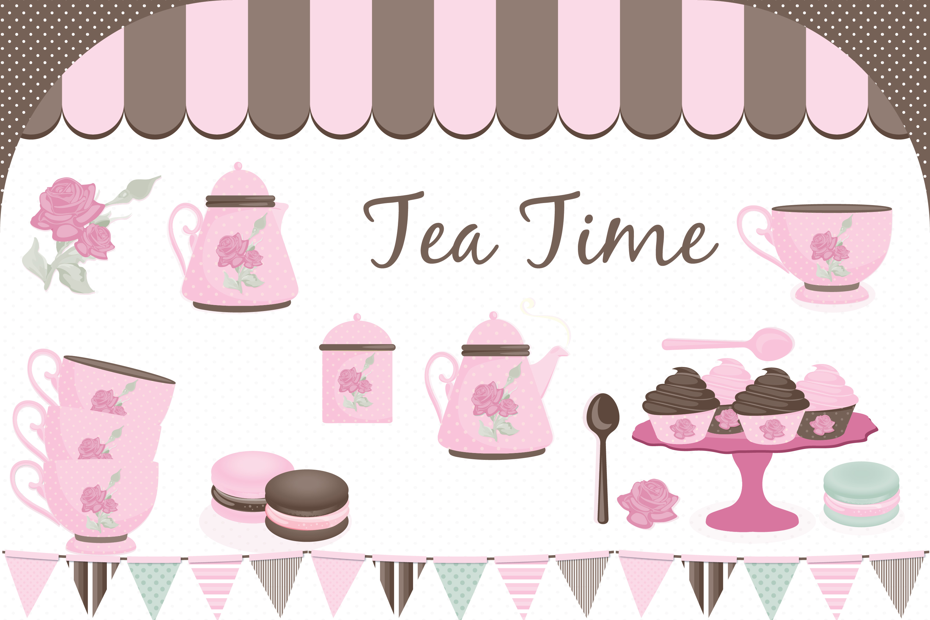 Tea party pictures clipart svg free library Tea party clipart, Tea party graphics svg free library