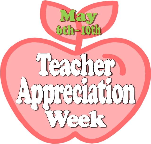 Clipart teacher appreciation week clipart black and white library Free Teacher Appreciation Week, Download Free Clip Art, Free Clip ... clipart black and white library