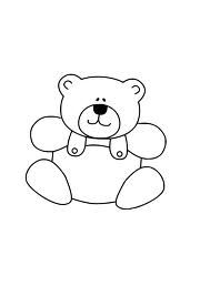 Clipart teddy bear and snowman black and white png library teddy bear clip art black and white - Google Search | rhyming words ... png library