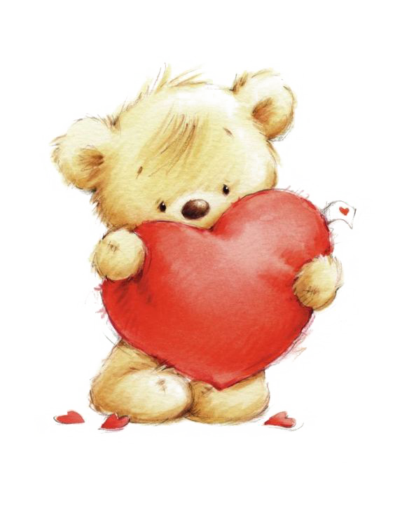 Clipart teddy bear with heart image freeuse stock Teddy bear Drawing Heart Clip art - Toy bear 564*758 transprent Png ... image freeuse stock