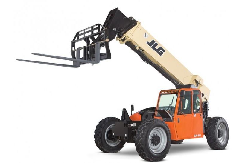 Clipart telehandler banner G15-44A - JLG Industries Inc. - Heavy Equipment Guide banner