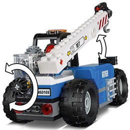 Clipart telehandler graphic freeuse Download lego city telehandler clipart LEGO 60169 City Cargo ... graphic freeuse