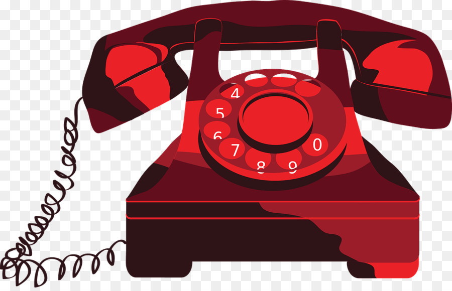 Clipart telephone pictures picture library download Telephone Cartoon clipart - Telephone, Email, Red, transparent clip art picture library download