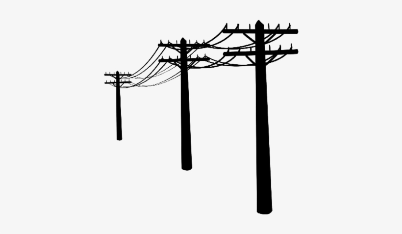 Telephone pole and wires clipart freeuse library Telephone Pole Clipart - Utility Lines Ornament (round) PNG Image ... freeuse library