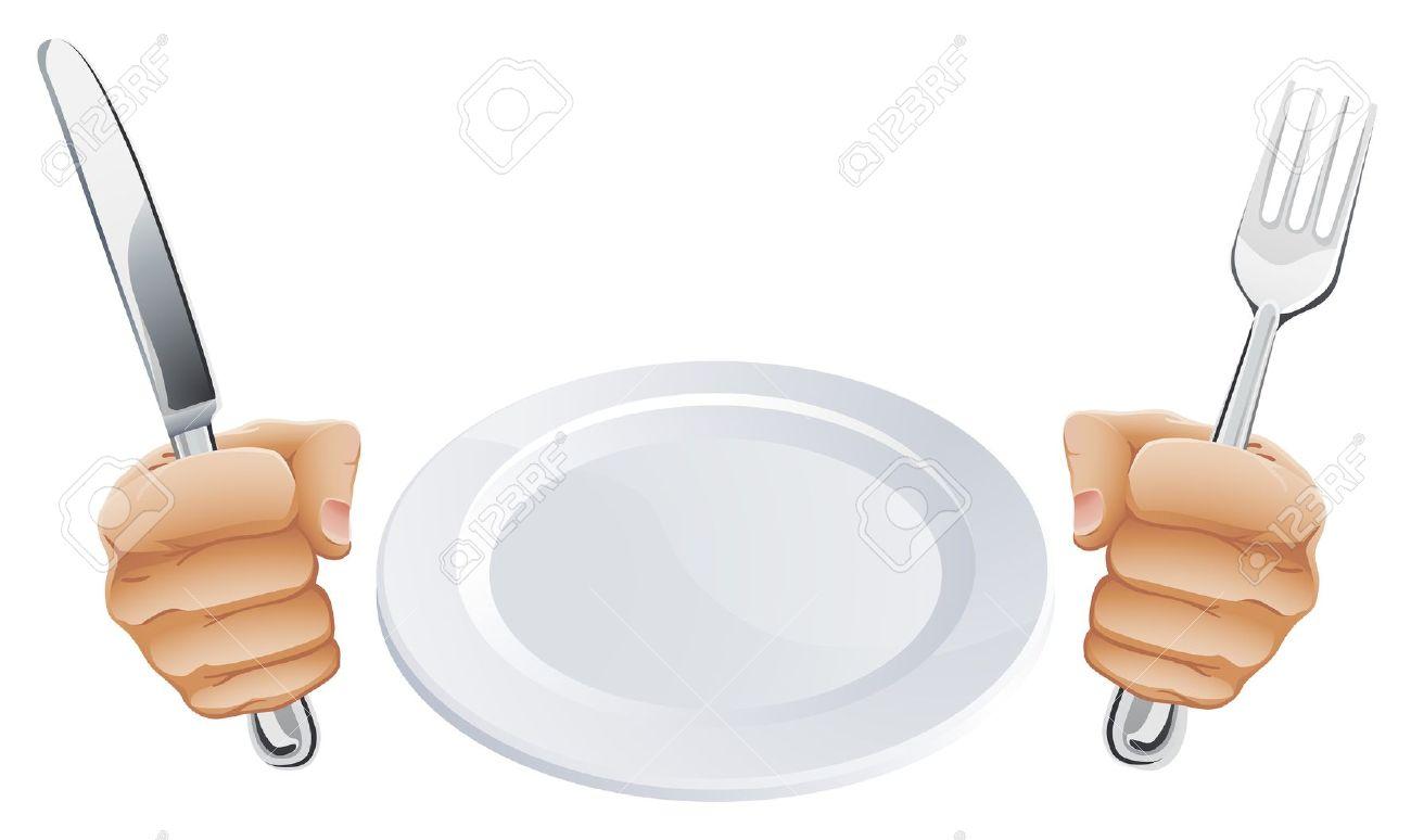 Clipart teller mit essen banner free Clipart teller besteck - ClipartFox banner free
