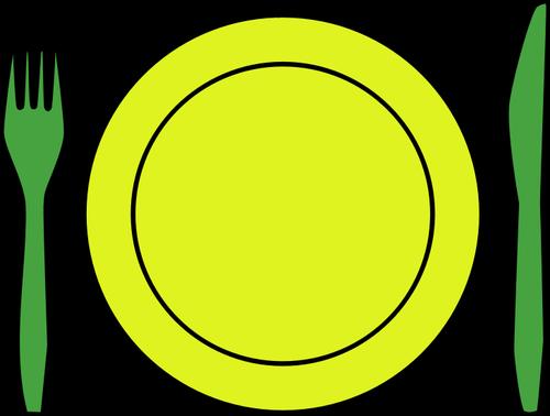 Clipart teller mit essen vector free download Clipart teller besteck - ClipartFox vector free download