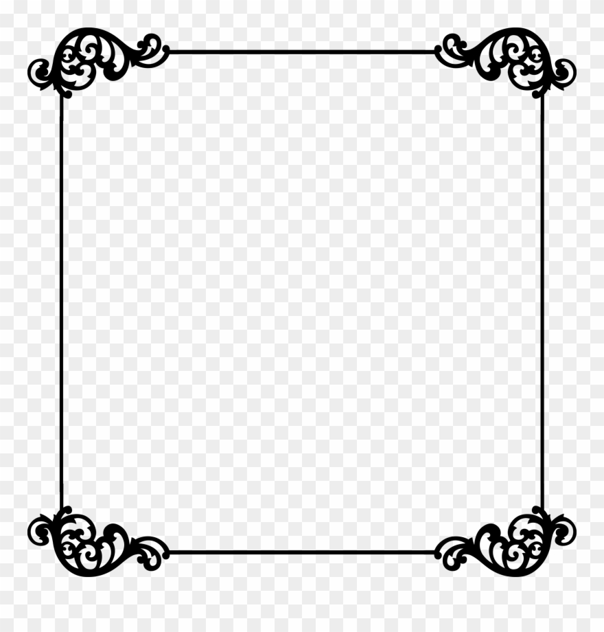 Templates clipart banner black and white Templates - Border - Border Templates Clipart (#80950) - PinClipart banner black and white