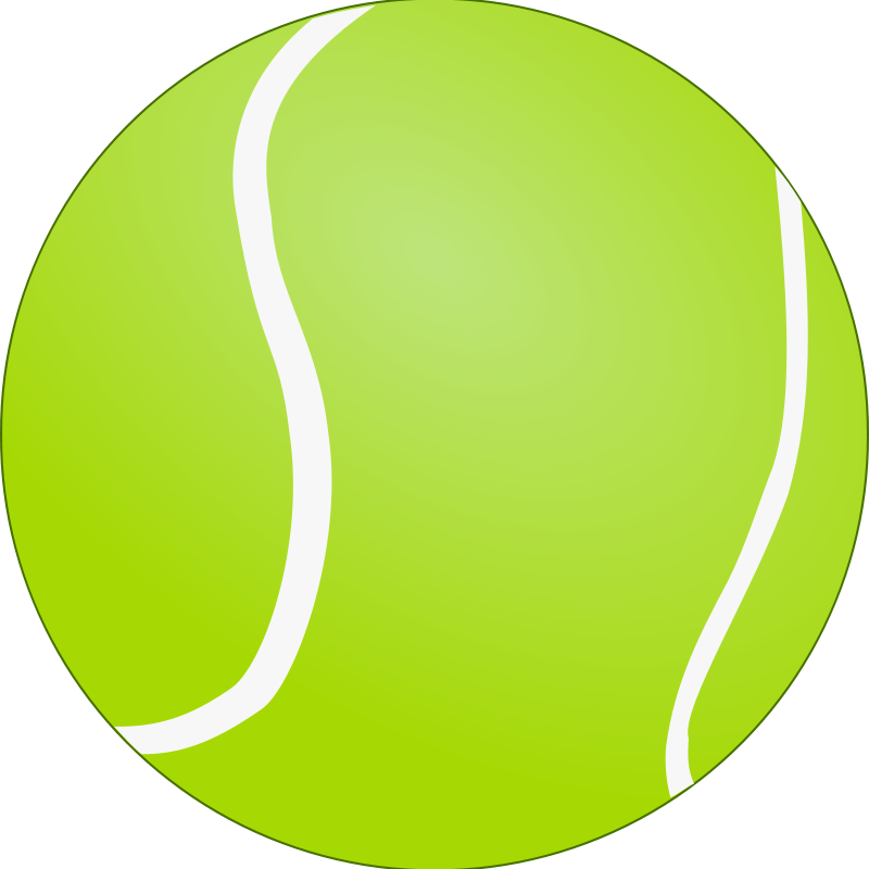 Clipart tennis ball clip art transparent stock Free Clipart: Tennis Ball - Bola de Tenis | lunik clip art transparent stock