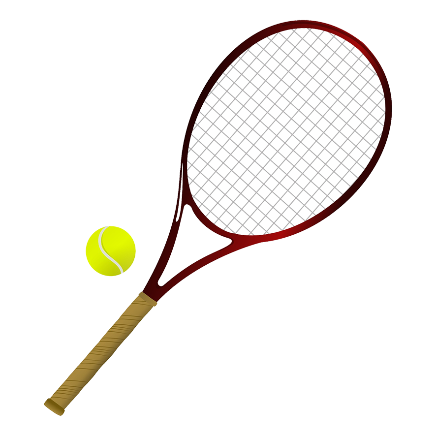 Clipart tennis racket with money svg transparent library Different Kinds of Sports Clipart svg transparent library