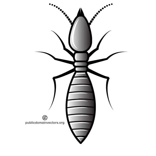 Clipart termites clip art freeuse TERMITE VECTOR CLIP ART - Free vector image in AI and EPS format. clip art freeuse