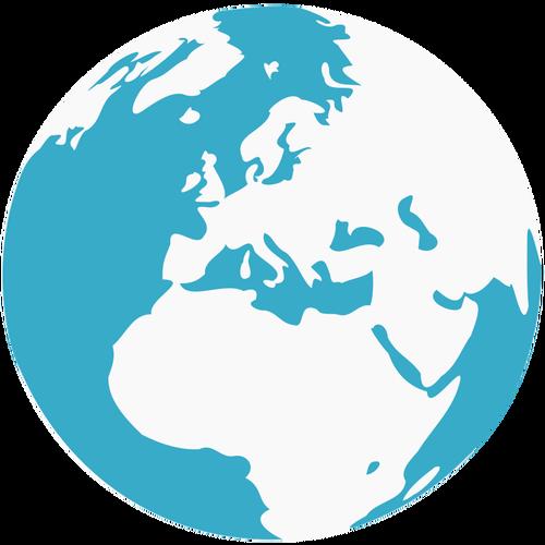 Clipart terre gratuit. World glob vectoriel best