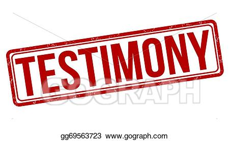 Clipart testimony image royalty free stock Vector Art - Testimony stamp. Clipart Drawing gg69563723 - GoGraph image royalty free stock