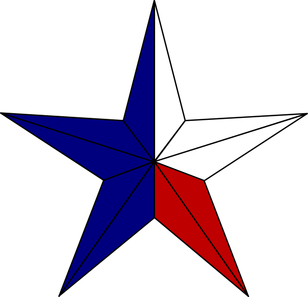 Red white and blue cross clipart clipart royalty free stock Star, Texas Clip Art at Clker.com - vector clip art online, royalty ... clipart royalty free stock