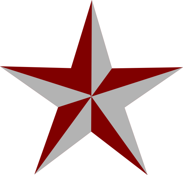 Texas star clipart clipart free library Red Star Clip Art at Clker.com - vector clip art online, royalty ... clipart free library
