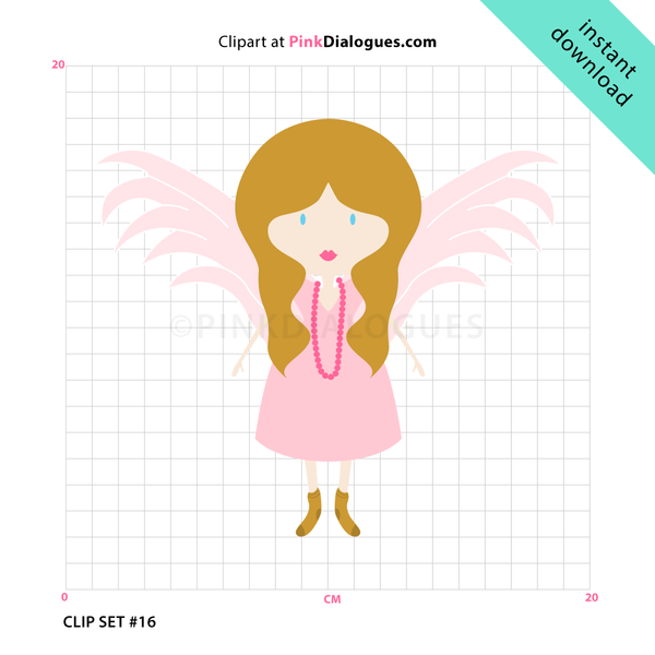 Clipart text sweet girl picture transparent library Sweet Angel Girl Clipart (Vector) picture transparent library