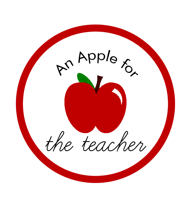 Clipart thank you teacher with apple png transparent stock Apple For A Teacher Black Friday Special   WSLM RADIO png transparent stock