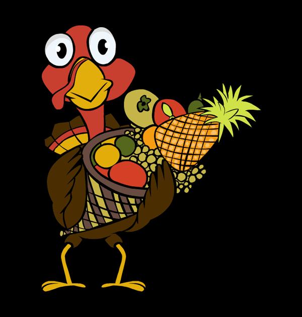 Clipart thanksgiving baskets vector 28+ Collection of Thanksgiving Basket Clipart | High quality, free ... vector