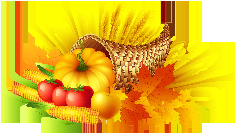 Fall thanksgiving clipart cornucopia clip art library stock Thanksgiving Cornucopia Transparent PNG Clip Art Image | Gallery ... clip art library stock
