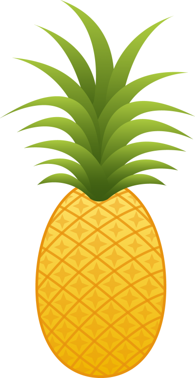 Clipart thanksgiving pineapple svg library library Pineapple Clipart – ClipartAZ – Free Clipart Collection svg library library