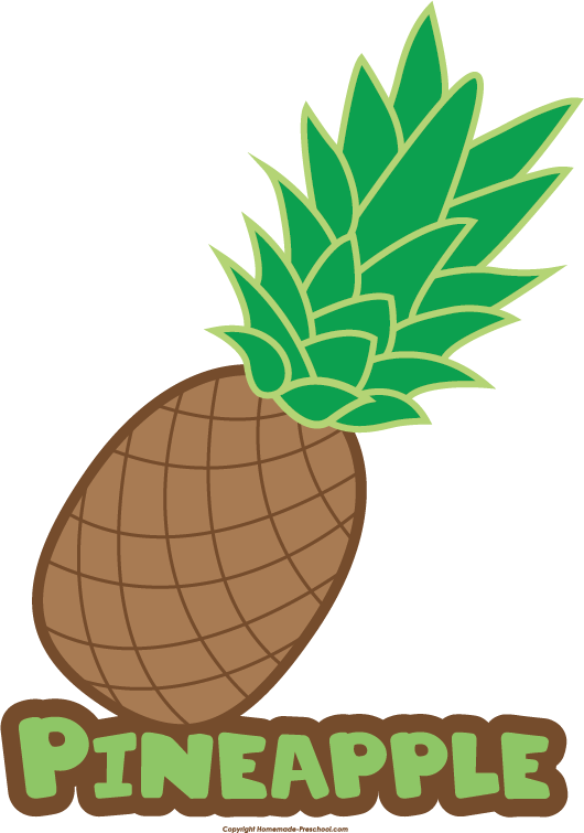 Clipart thanksgiving pineapple vector freeuse download Free Food Groups Clipart vector freeuse download