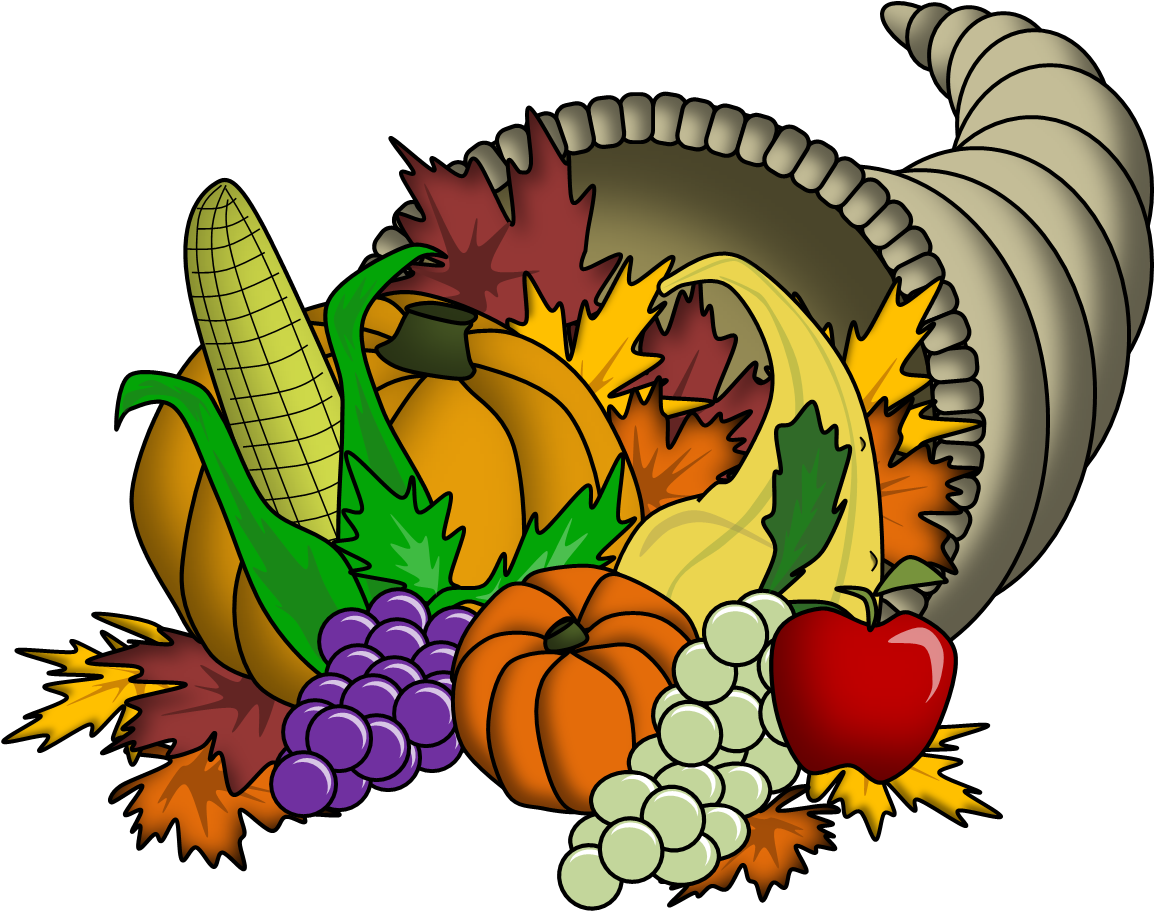 Thanksgiving clipart cute clip art free stock 19 Cornucopia clipart HUGE FREEBIE! Download for PowerPoint ... clip art free stock