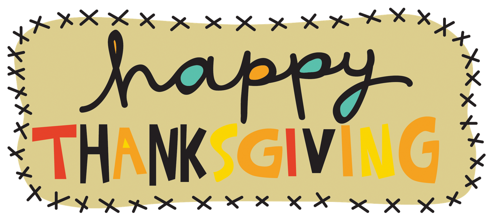 Happy thanksgiving words clipart picture transparent Thanksgiving 2016 Clip Art - Clipart &vector Labs :) • picture transparent