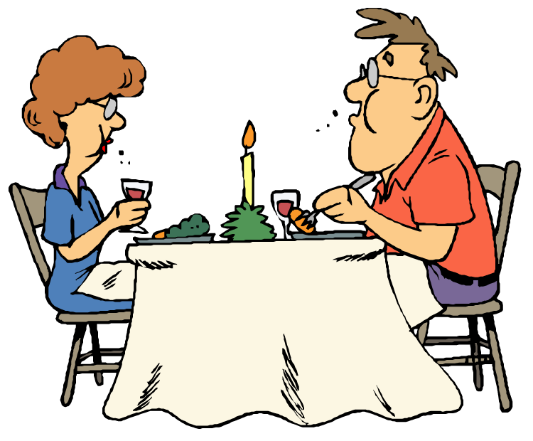 School kitchen clipart clip free stock Dinner Table Clip Art | Clipart Panda - Free Clipart Images clip free stock