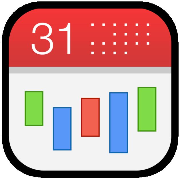 Clipart that looks like apple calendar clipart royalty free CalenMob - Sync with Google Calendar on the Mac App Store clipart royalty free