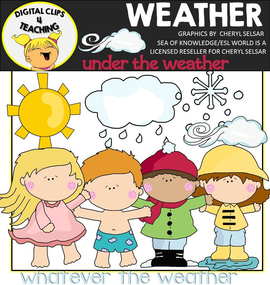 Clipart that you can resell as is png free library Weather Clipart | Clip Art | Clip art, Weather, Art png free library