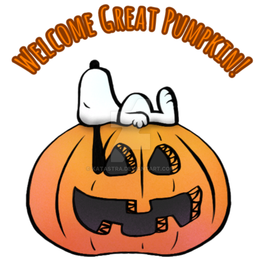 Great pumpkin charlie brown clipart image black and white download Welcome Great Pumpkin by katastra on DeviantArt image black and white download