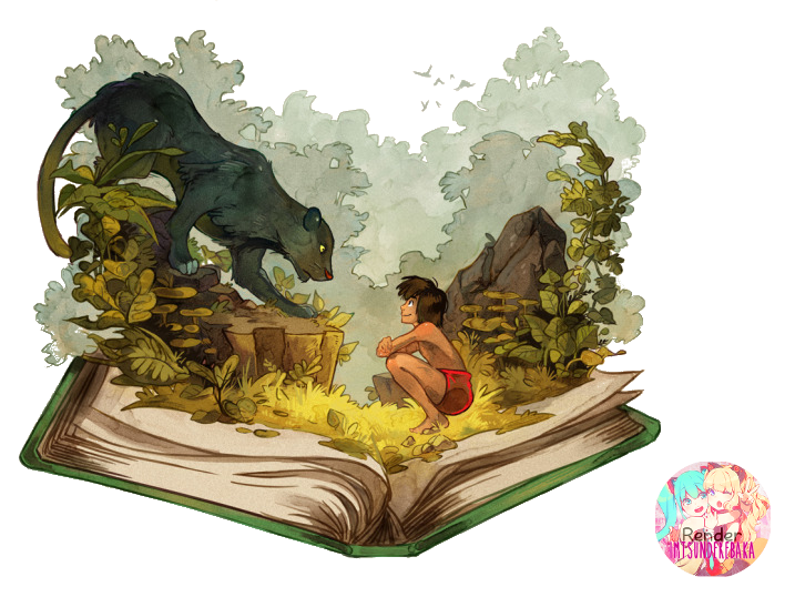 Clipart the jungle book clipart library The Jungle Book Render by ImTsundereBaka on DeviantArt clipart library