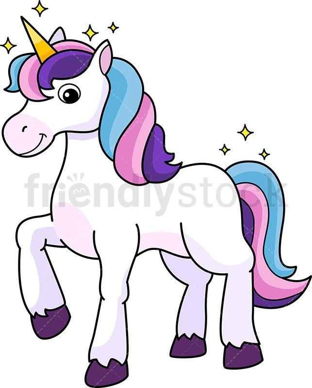 Unicorn cartoon clipart picture freeuse download Majestic Unicorn | My Favorites | Majestic unicorn, Unicorn, Clip art picture freeuse download