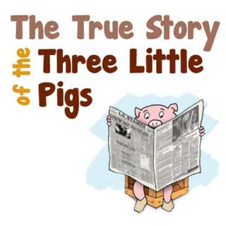 Clipart the true story of the 3 little pigs png free The True Story of the Three Little Pigs | BookPagez png free