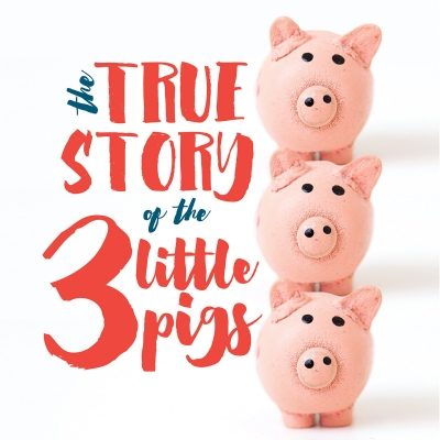 Clipart the true story of the 3 little pigs svg black and white download Salt Lake Acting Company - The True Story of the 3 Little Pigs svg black and white download