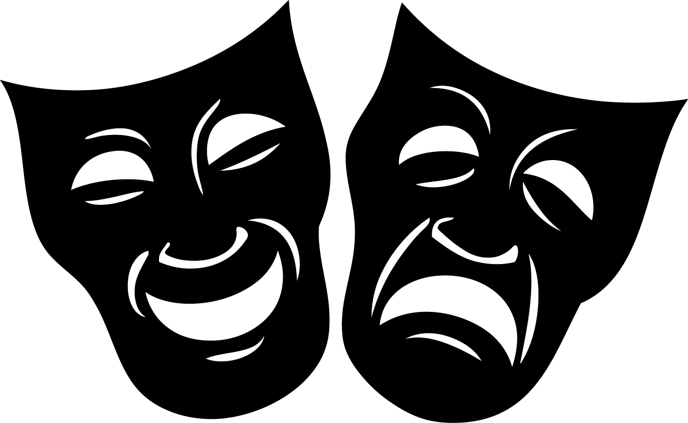 Clipart theatre logo clipart transparent stock Theater Masks Clipart & Theater Masks Clip Art Images - ClipartALL.com clipart transparent stock