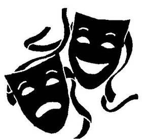 Clipart theatre logo clip art black and white Theatre Logo - ClipArt Best clip art black and white