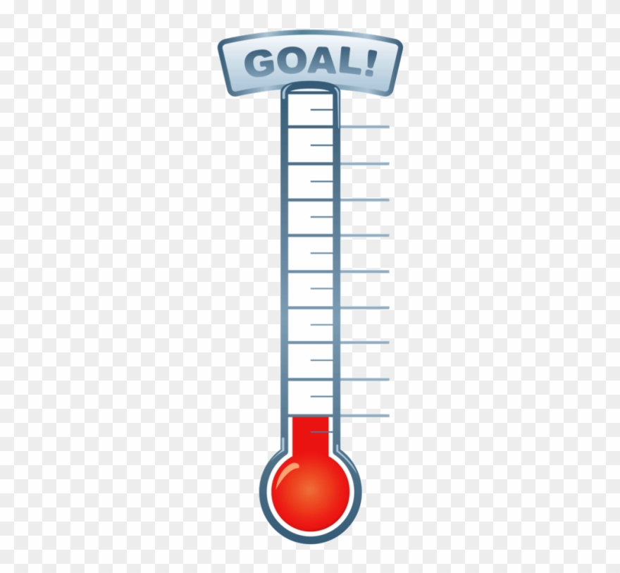 Thermometer clipart goal banner library stock Pin Fundraising Thermometer Clip Art - Goal Setting Thermometer ... banner library stock