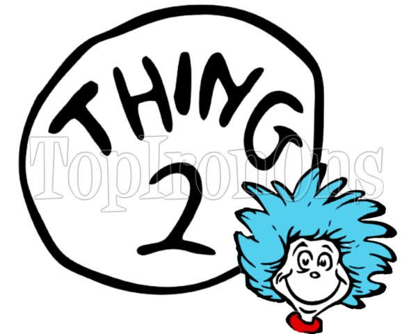 Clipart thing 1 and thing 2 clip free download Thing 1 And Thing 2 Black And White Clipart - Clipart Kid clip free download