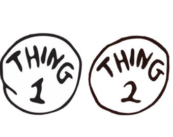 Clipart thing 1 and thing 2 clipart free stock Thing 1 And Thing 2 Clipart - Clipart Kid clipart free stock