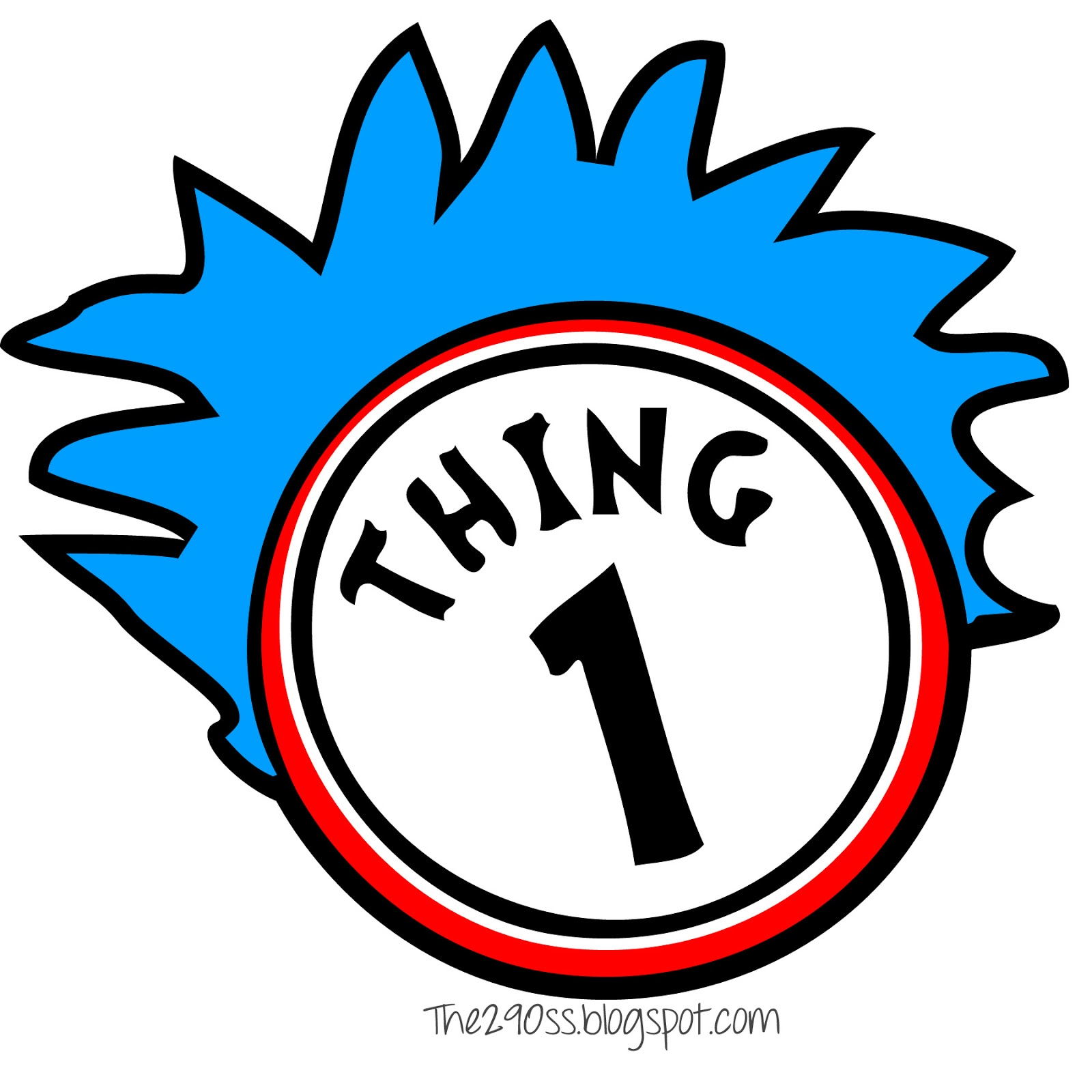 Clipart thing 1 and thing 2 picture library Dr. Seuss Thing 1 And Thing 2 Clipart - ClipArt Best - ClipArt Best picture library