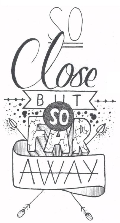 Clipart things close up and things far away vector library stock This is the Quote I always say.....\