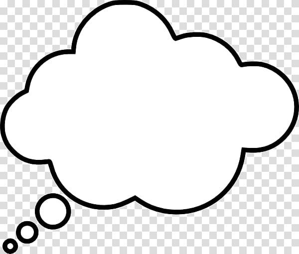 Cloud thinking clipart png royalty free stock White cloud , Thought Speech balloon , Thinking Cloud transparent ... png royalty free stock