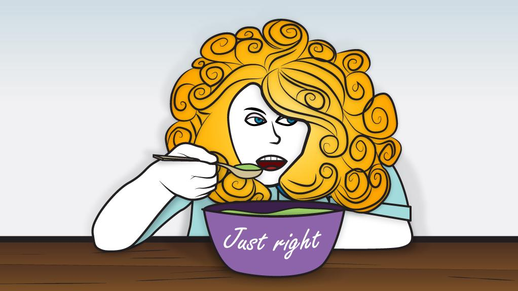 Clipart this porridge is just rigth png royalty free download Goldilocks and the global economic porridge - The National png royalty free download