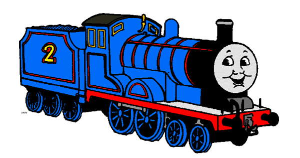 Thomas the Tank Engine and Friends Clip Art | Cartoon Clip Art vector library stock