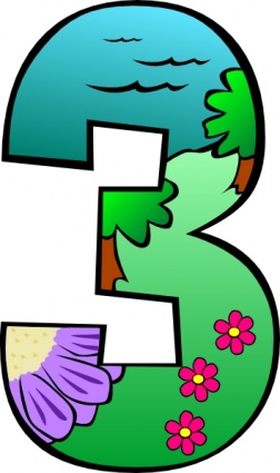 Clipart three svg royalty free Clip Art.3 – Clipart Free Download svg royalty free