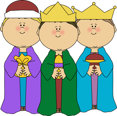 Clipart three banner library Christmas Three Wise Men Clipart - Clipart Kid banner library