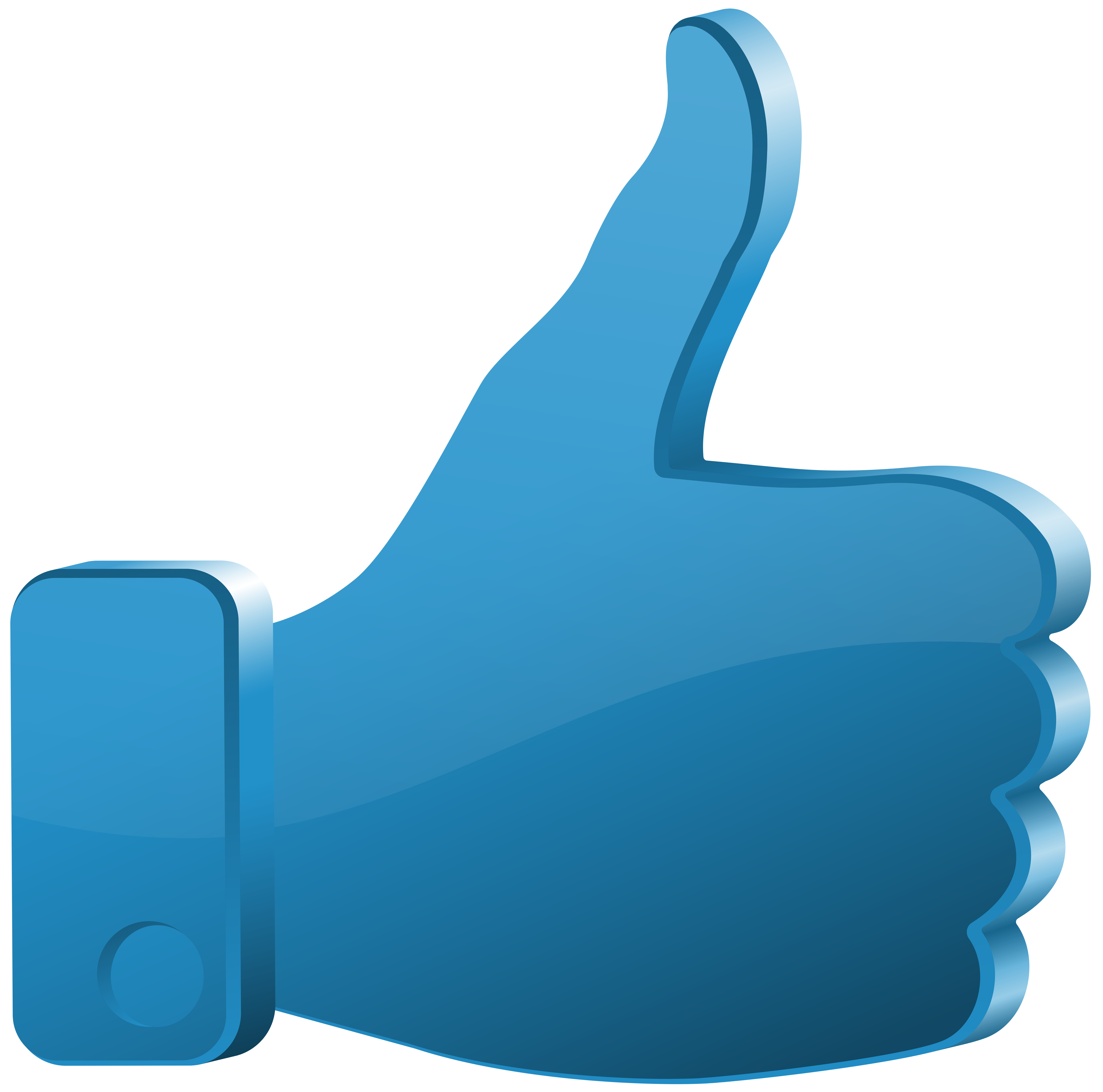 Clipart thumbs up png banner royalty free download Thumbs Up Blue Transparent Clip Art PNG Image | Gallery ... banner royalty free download